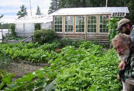 Trapline garden